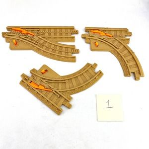 Geotrax 3 Switch Tracks 1 Parallel 2 Curve